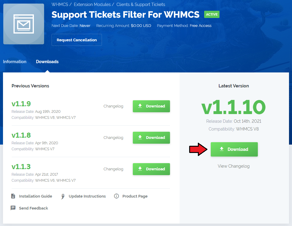 Support Tickets Filter For WHMCS - ModulesGarden Wiki