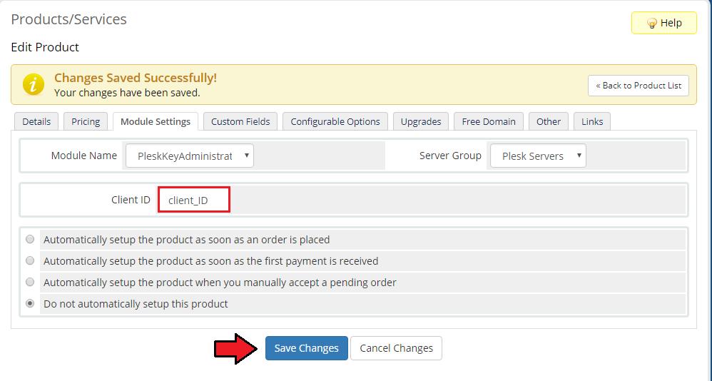 Plesk Key Administrator For WHMCS - ModulesGarden Wiki