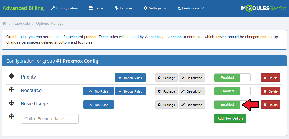 Proxmox Cloud Autoscaling For WHMCS - ModulesGarden Wiki