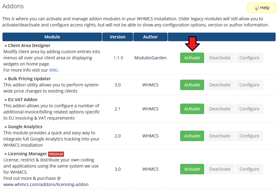 Client Area Designer For WHMCS - ModulesGarden Wiki
