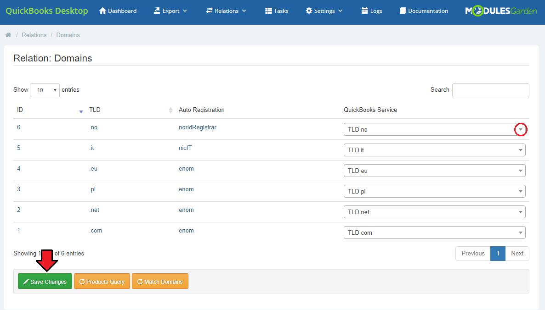QuickBooks Desktop For WHMCS ModulesGarden Wiki