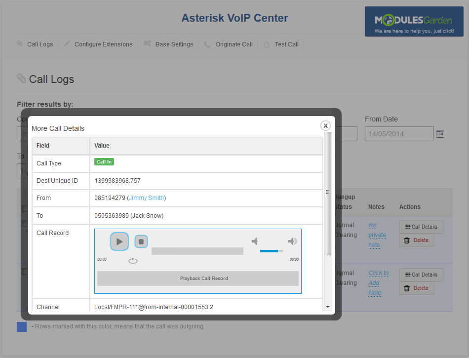 Asterisk VoIP Center For WHMCS - ModulesGarden Wiki