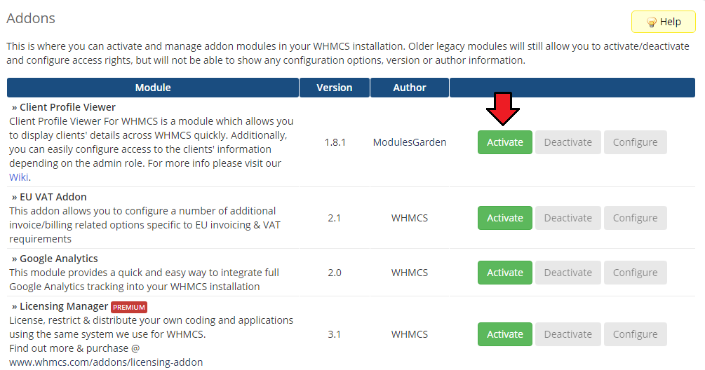 Client Profile Viewer For WHMCS - ModulesGarden Wiki