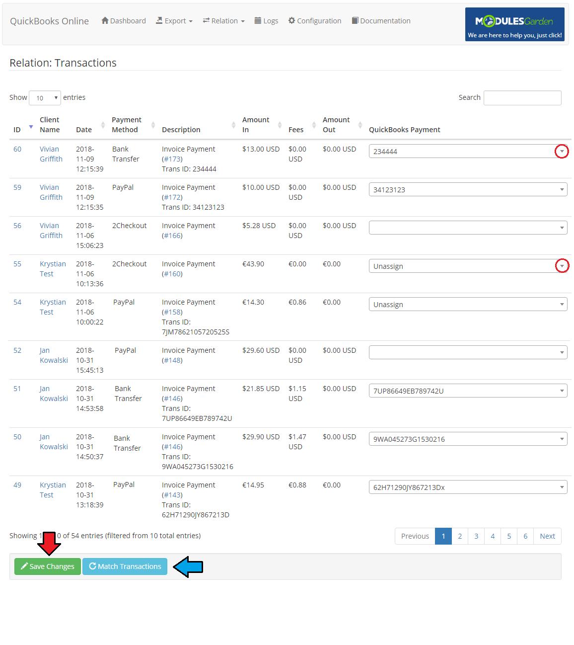 QuickBooks Online For WHMCS - ModulesGarden Wiki