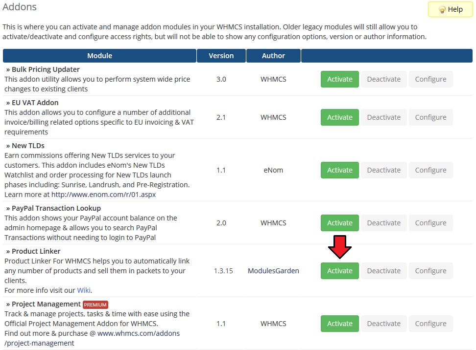 Product Linker For WHMCS - ModulesGarden Wiki