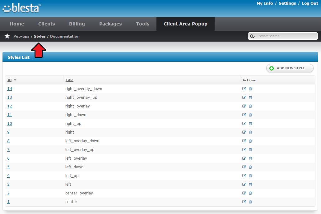 Client Area Popup For Blesta ModulesGarden Wiki