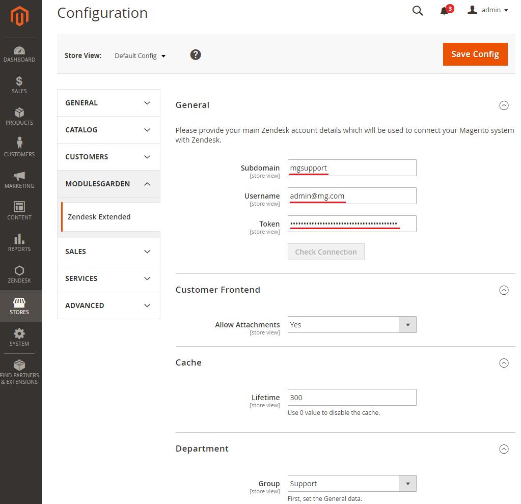 Zendesk Extended For Magento 2 - ModulesGarden Wiki